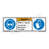 Warning/Risk of Injury (C6501-02)