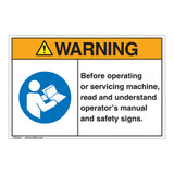 Warning/Before Operating Label (EMC 37 )