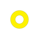 Emergency Stop (65mm Circle W/30.6mm Hole) Label (ES65-30.6B)