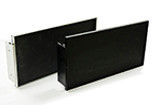 Anodized Satin Aluminum Exit Sign Frame (F001-S)