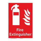 Fire Extinguisher Sign (F1001-)