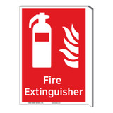 Fire Extinguisher Sign (F1001F-)