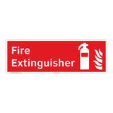 Fire Extinguisher Sign (F1004)