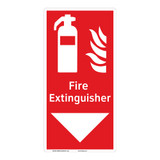 Fire Extinguisher Sign (F1005-)