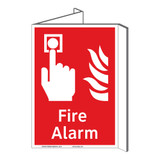 Fire Alarm Sign (F1006P-)