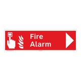 Fire Alarm Sign (F1007-)