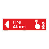 Fire Alarm Sign (F1008-)