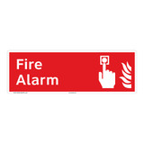 Fire Alarm Sign (F1009)