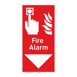 Fire Alarm Sign (F1010-)
