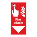 Fire Alarm Sign (F1010-)