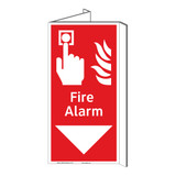 Fire Alarm Sign (F1010P-)