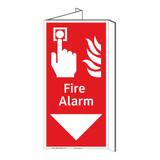 Fire Alarm Sign (F1010P-)