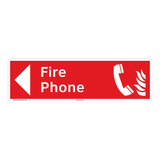 Fire Phone Sign (F1013-)