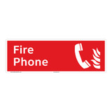 Fire Phone Sign (F1014)