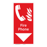Fire Phone Sign (F1015-)