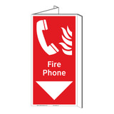 Fire Phone Sign (F1015P-)