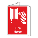 Fire Hose Sign (F1016P-)