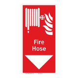 Fire Hose Sign (F1020-)