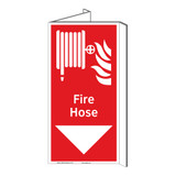 Fire Hose Sign (F1020P-)