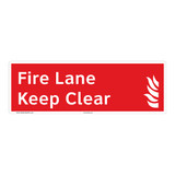 Fire Lane Sign (F1021-)