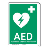 AED Sign (F1033F-)