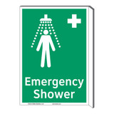 Emergency Shower Sign (F1038F-)