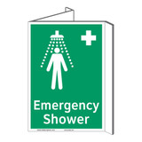 Emergency Shower Sign (F1038P-)