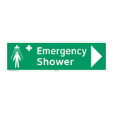 Emergency Shower Sign (F1039-)