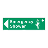 Emergency Shower Sign (F1040-)