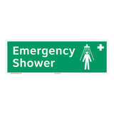 Emergency Shower Sign (F1041)