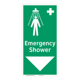 Emergency Shower Sign (F1042-)