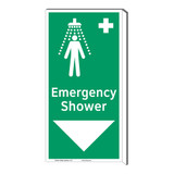 Emergency Shower Sign (F1042F-)