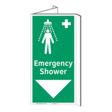Emergency Shower Sign (F1042P-)