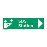 SDS Station Sign (F1044-)