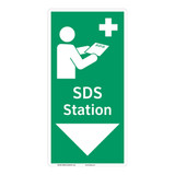 SDS Station Sign (F1047-)