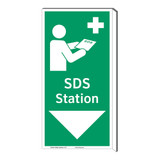 SDS Station Sign (F1047F-)