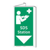 SDS Station Sign (F1047P-)
