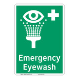 Emergency Eyewash Sign (F1048-)