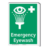 Emergency Eyewash Sign (F1048F-)