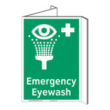 Emergency Eyewash Sign (F1048P-)