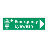 Emergency Eyewash Sign (F1049-)