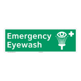 Emergency Eyewash Sign (F1051)