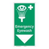 Emergency Eyewash Sign (F1052-)