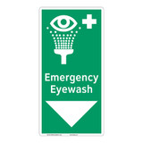 Emergency Eyewash Sign (F1052-)