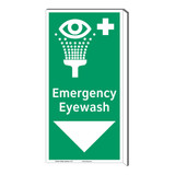 Emergency Eyewash Sign (F1052F-)
