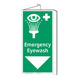Emergency Eyewash Sign (F1052P-)