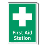 First Aid Station Sign (F1053F-)