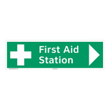 First Aid Station Sign (F1054-)