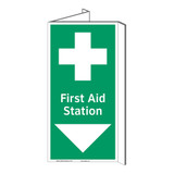 First Aid Station Sign (F1057P-)