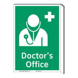 Doctors Office Sign (F1058F-)